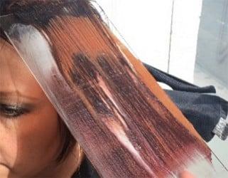 Nieuwe Haarverftechniek Met Plexiglas Wellness Academie