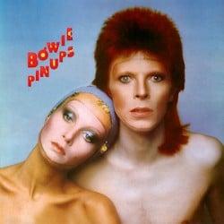 Davis Bowie en Twiggy