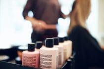 shampooflessen in kapsalon