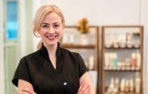 een van de vele beauty salons in Nederland