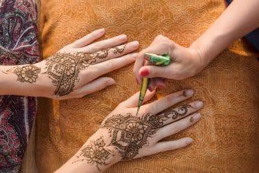 Tijdens welke gelegenheden kun je allemaal henna tattoos toepassen?