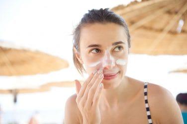 tips voor zonnebrandcrème en een vette huid