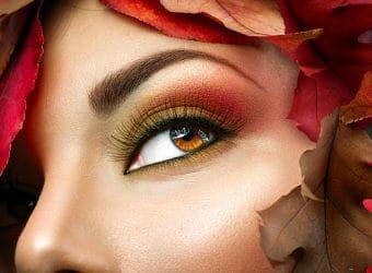 de sfeer van de herfst in je make-up brengen met tip van Wellness Academie.